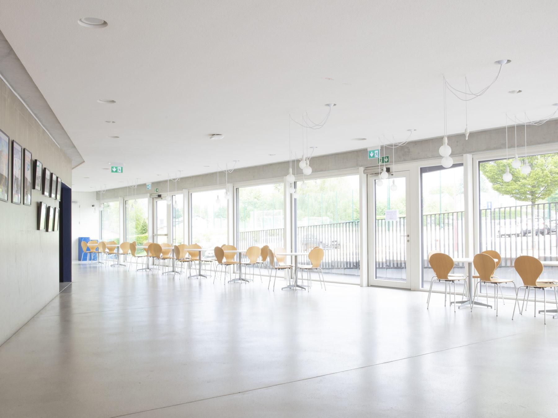 Secondary campus cafeteria