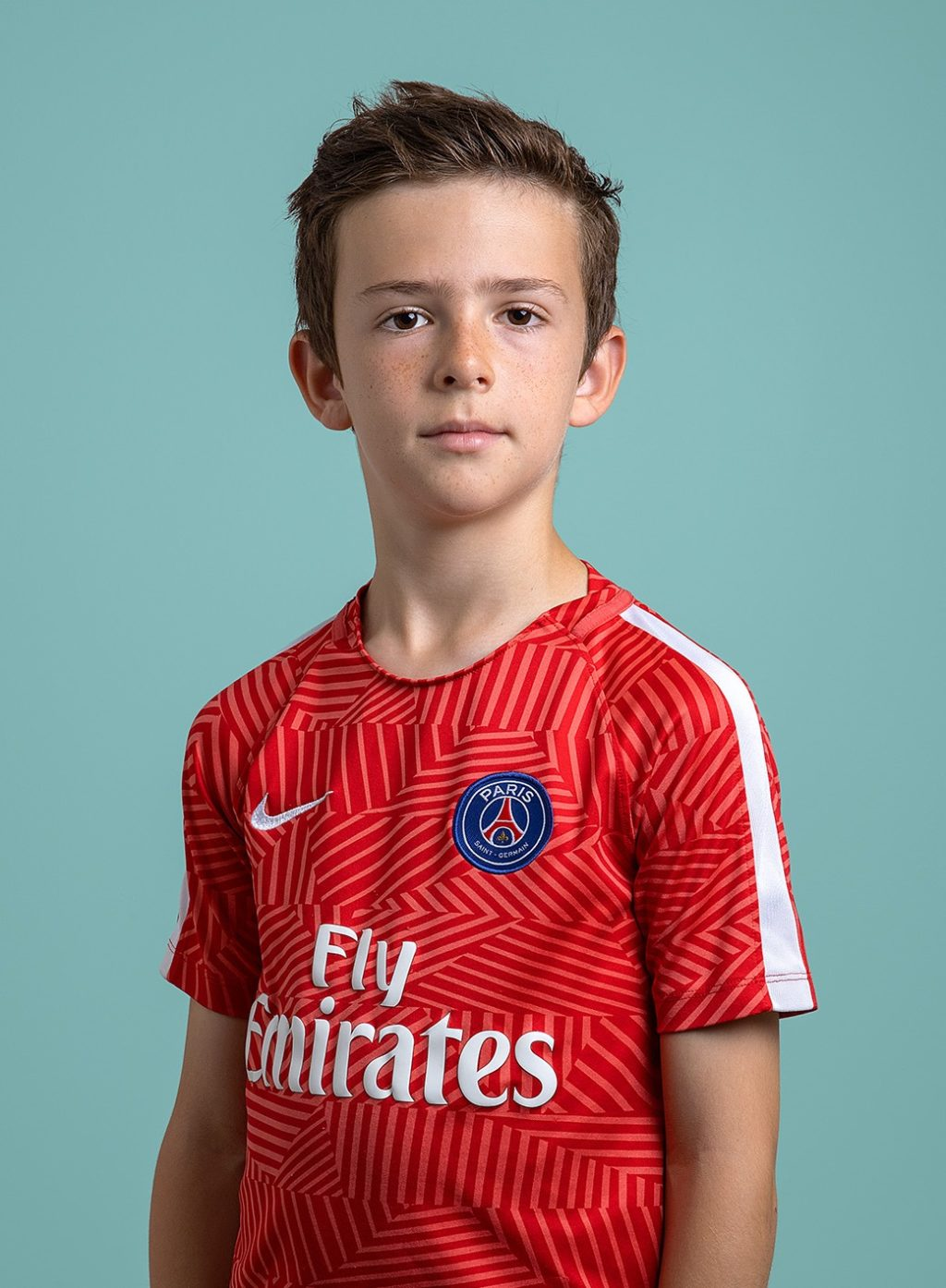 ISL Student Julien, 11 years old