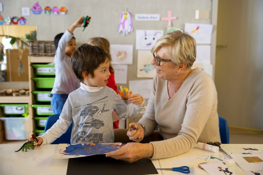 Teacher and student - the Early Childhood
