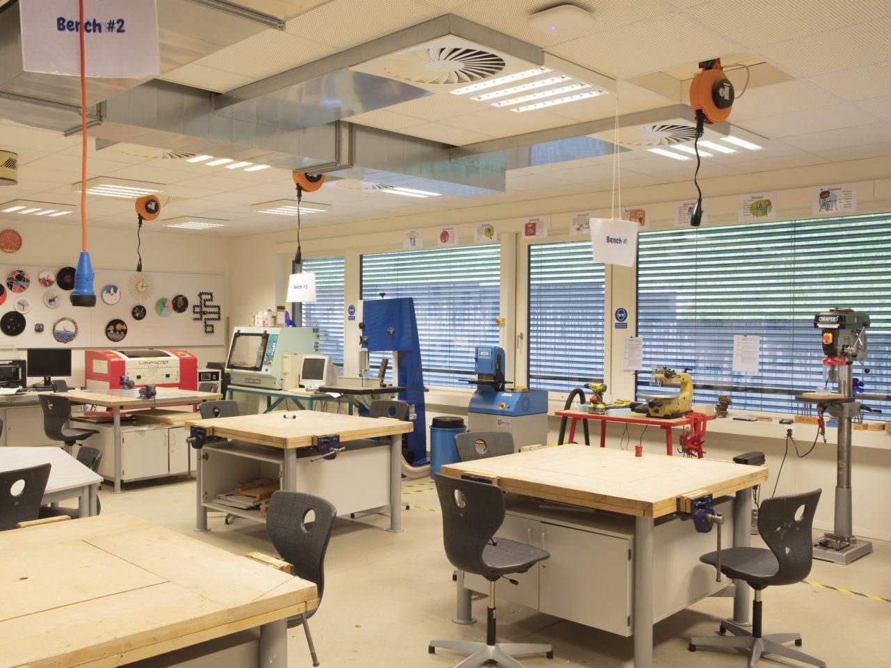 Maker space Lausanne
